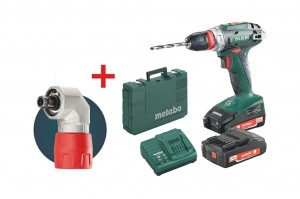 Metabo Wkrętarka Bs 18 48/24Nm 2X2,0Ah + Adapter Kątowy